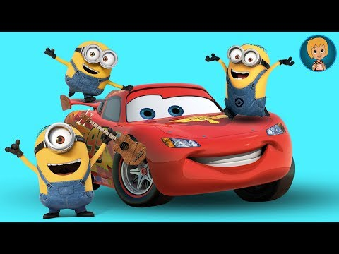 Minions Vs Lightning McQueen Truck! Disney Cars And Minion Battle (Gertit ToysReview)