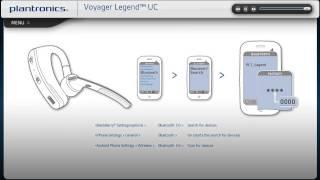 Voyager Legend UC Video Setup Guide