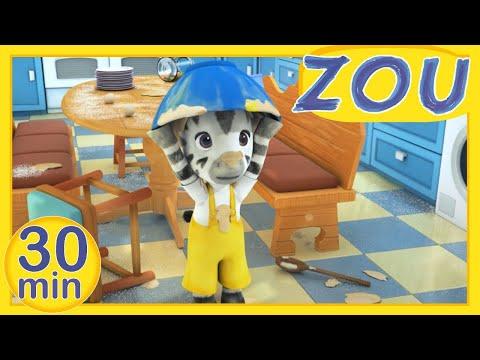 Zou en Français 👩🍳 ZOU AIME CUISINER 👨🍳 30 min COMPILATION |Dessins animés pour enfants
