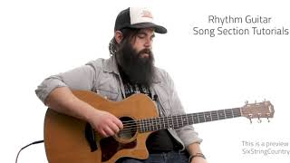 Rumor Guitar Lesson and Tutorial - Lee Brice