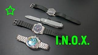Victorinox I.N.O.X. Herren Armbanduhr (241682.1)   ALOX X DAMAST