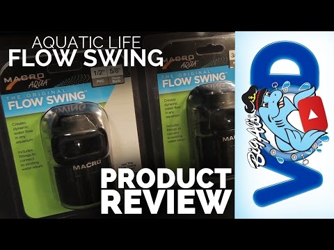 Amp Up the Water Flow in Your Aquarium with Flow Swing (Video)