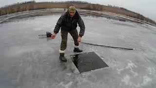 Рыбалка на сетку зимой