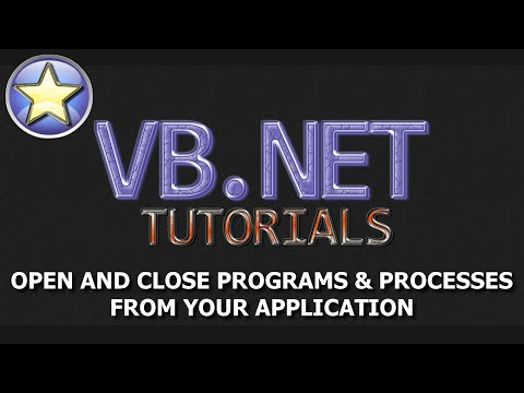 VB.NET Beginner Tutorial – Start and Kill Programs and Processes (Visual Basic .NET)