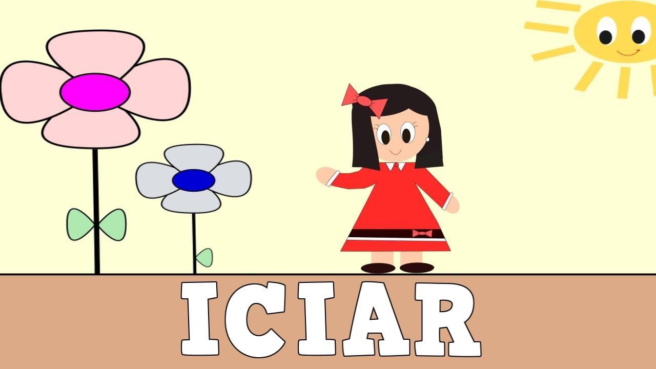 Aprender a Leer y Escribir ICIAR - Vídeos educativos para Niñosy Bebés - Paty y Poty