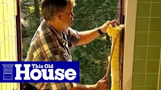 How To Install A Replacement Window | This Old House