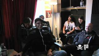 """As I Lay Dying """"The Powerless Rise"""" Studio Clip #6"""