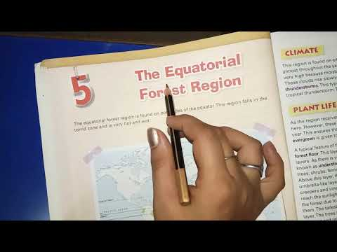 , title : 'The Equatorial forest region (Chapter-5)