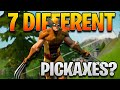 How To Get 7 DIFFERENT Pickaxes In The SAME Match