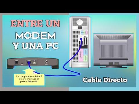 ✔Armar Cable De RED Entre UN MODEM Y UNA PC  | Cable Directo/Cruzado