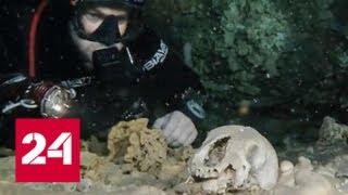 Останки жившего 10 тысяч лет назад человека найдены в Мексике - Россия 24