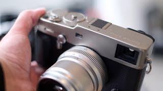 HANDS ON with the Fujifilm X-Pro 3!!