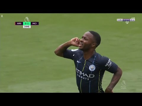 Manchester City VS Arsenal (1-0) All Goals & Highlights 2018/08/12