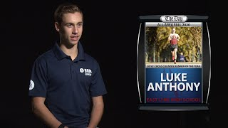 Luke Anthony - All-Area Boys' Cross-Country Runner of the Year