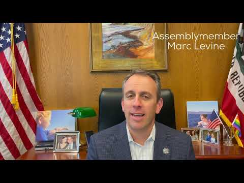 Thumbnail image of Assemblymember Marc Levine video.