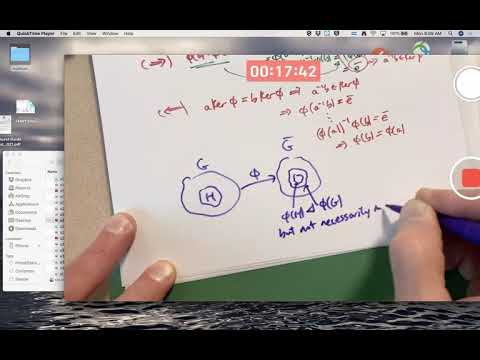 Abstract Algebra: Exam 2 Review (Group Homomorphisms, Kernels ...