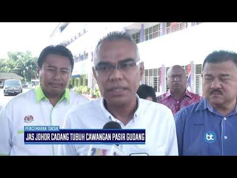 PENCEMARAN KIMIA |JAS Johor Cadang TubuhCawangan Pasir Gudang
