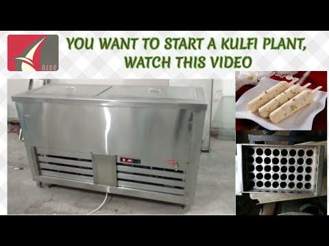 Kulfi Making Machine Fixed Mould