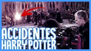 9 ACCIDENTES en el SET de RODAJE de HARRY POTTER