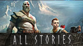 God of War - Every Story Kratos Tells Atreus // Kratos Story-time