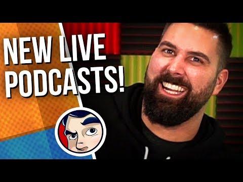 Comicstorian Extras! Podcast Network, Patreon Bonuses, HELP US!   Comicstorian