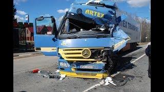 ВИДЕО АВАРИЙ ДТП ГРУЗОВИКИ НА ДОРОГЕ СНЯТЫХ НА ВИДЕОРЕГИСТРАТОР Car Crash Channel №23