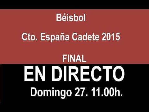 Fina Campeonato de España Cadete