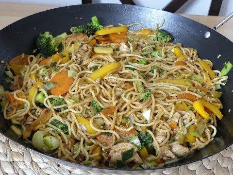 Chinesische Nudeln/ Wok Pfanne🍲🍶Asia Food