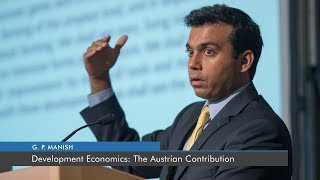 Development Economics: The Austrian Contribution | G. P. Manish