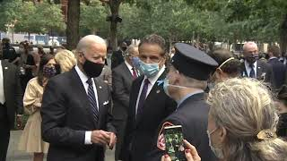 B-Roll: Governor Cuomo Attends September 11th 2020 Commemoration Ceremony