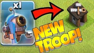 "NEW ROBOT TROOP!?! ""Clash Of Clans"" BUILDER HALL 9 UPGRADE!!"