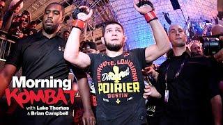Is Khabib the Mayweather of UFC?   UFC 242   MORNING KOMBAT