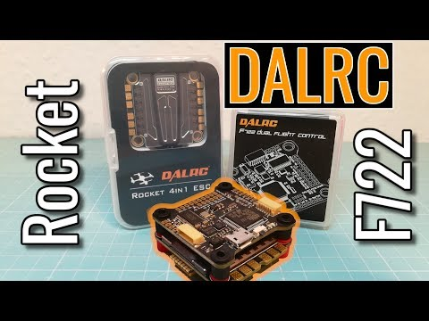 DalRc F722 Dual Gyro + DalRc Rocket 50A 4in1 = Best FC+ESC Stack you can get!