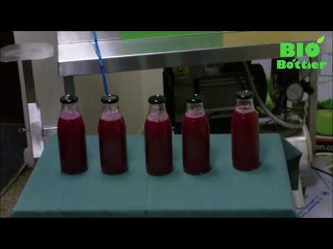 BIO Bottler Juice Bottle Filling Machine Cold Press Juice UK