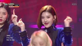 뮤직뱅크 Music Bank - LOCA - FAVORITE(페이버릿).20190125