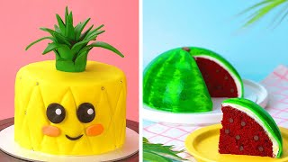 15 Fun And Creative Cake Decorating Ideas For Any Occasion | Best Fruitcake Recipes | Tasty Cake