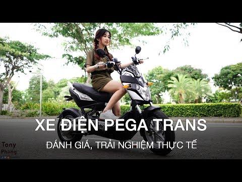 Đánh giá xe máy điện Pega Trans