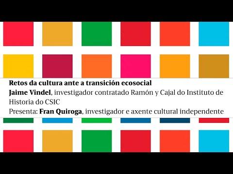 Retos da cultura ante a transición ecosocial