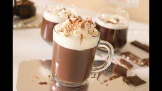 طريقة عمل الهوت تشوكليت(مشروب الشوكولاتة الساخن)بطريقة احترافية رووووعة Hot Chocolate