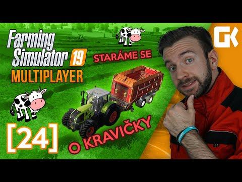 STARÁME SE O KRAVIČKY! | Farming Simulator 19 Multiplayer #24
