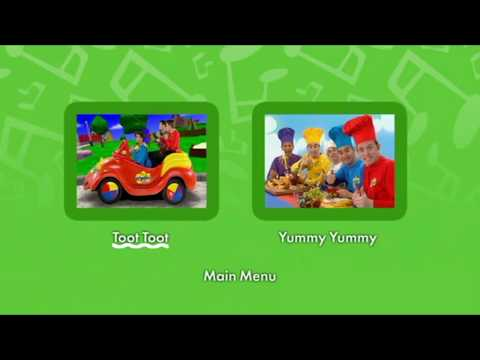 Download The Wiggles Dvd Menus Toot Toot And Yummy Yummy Uk