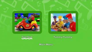 the wiggles toot toot dvd menu - TH-Clip