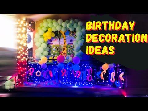 Birthday party decorating ideas