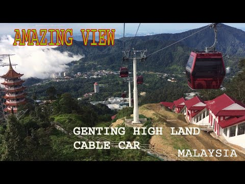 View Of Genting Highland Malaysia  From Cable Car(gondula)