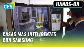 #CES2017: Refrigerador Samsung Family Hub 2.0 y centro de lavado Flex