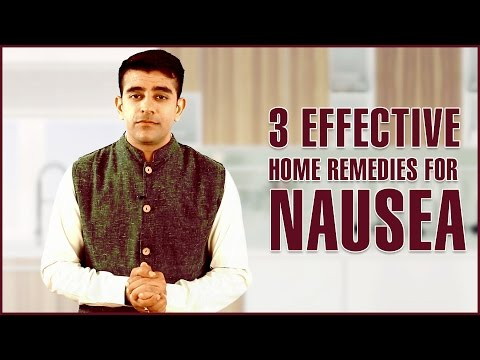 Video 3 Best HOME REMEDIES TO GET RID OF NAUSEA