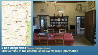 preview picture of video '5-bed Unspecified for Sale in Domme, Dordogne, France on frenchlife.biz'