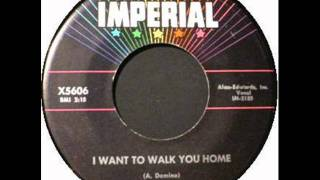 FATS DOMINO    I Want To Walk You Home    JUL '59
