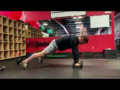 How To- PLANK ROW & REACH