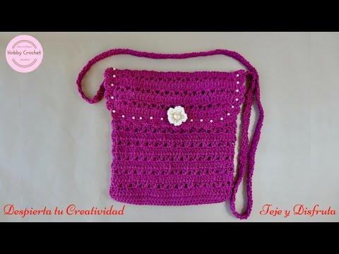 Bolso a Crochet, paso a paso